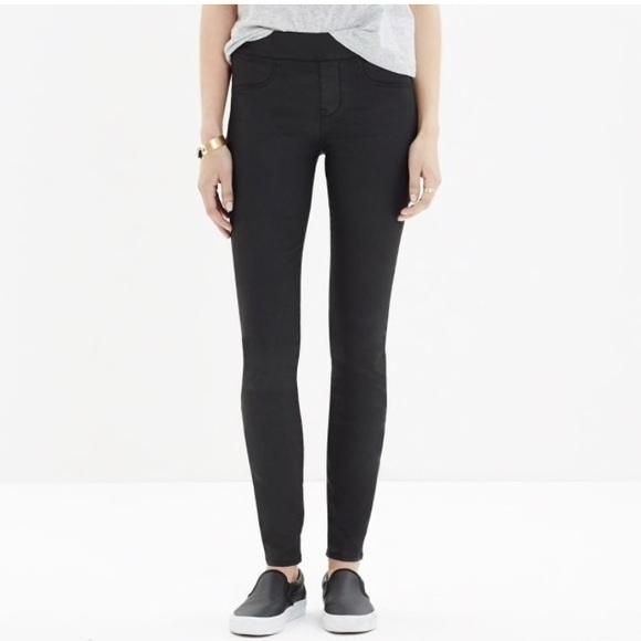 36462f64783061 Madewell Pants | Skinny Skinny Coated Leggings | Poshmark